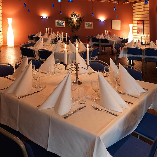 Catering, trerätters meny på fest i Stockholm